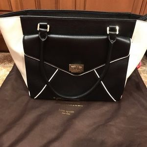 Beautiful brand new Kate spade all leather bag